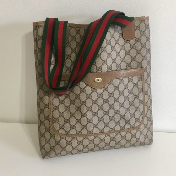 bb2607c2fbf Gucci Handbags - Authentic GUCCI Sherry Line tote Shoulder bag